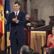 Felipe will als König Spaniern seine ganze Kraft schenken (Foto)
