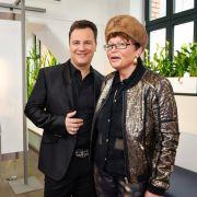 Guido Maria Kretschmer mit Mutter Sigrid.