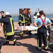 Fährunglück auf Amrum: Viele Verletzte und Chaos an Bord (Foto)