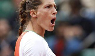 «Power-Petko» Andrea Petkovic räumte Sara Errani einfach vom Platz. (Foto)