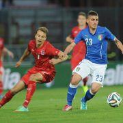 Italien nur Remis im WM-Test: 1:1 gegen Luxemburg (Foto)