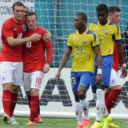 England nur 2:2 im WM-Test gegen Ecuador (Foto)