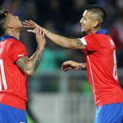 Freude und Sorge: Vidals Kurz-Comeback für Chile (Foto)