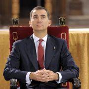 Thronwechsel in Spanien ohne ausländische Staatsgäste (Foto)