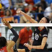 Volleyballerinnen gegen Spanien klar favorisiert (Foto)