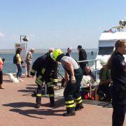Fehlerhaftes Bauteil verursachte Unfall im Amrumer Hafen (Foto)