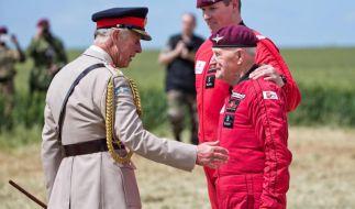 Feiern zum D-Day in der Normandie (Foto)