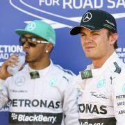 Hamilton zu Knatsch mit Rosberg: «Haben Aufs und Abs» (Foto)