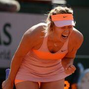 Scharapowa will zurück auf Pariser Tennis-Thron (Foto)