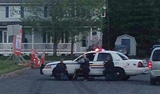 Kanadische Polizei nimmt mutmaßlichen Polizistenmörder fest (Foto)