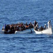 Mehr als 2500 Flüchtlinge vor italienischer Küste gerettet (Foto)