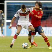 Deutsche U 19 für EM qualifiziert - 3:1 gegen Spanien (Foto)
