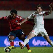 Kolumbien beendet WM-Vorbereitung mit Sieg gegen Jordanien (Foto)