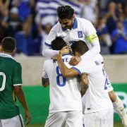 Griechenland gewinnt 2:1 gegen Bolivien (Foto)