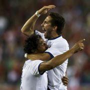 Portugal nach spätem Sieg erleichtert (Foto)