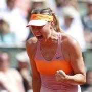 Scharapowa zum zweiten Mal French-Open-Siegerin (Foto)