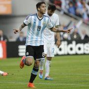 Argentinien gewinnt letztes Testspiel - Messi trifft (Foto)