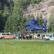 Rettungsaktion für Verletzten in 1000 Metern Tiefe (Foto)