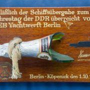 Einstige DDR-Staatsjacht steht zum Verkauf (Foto)