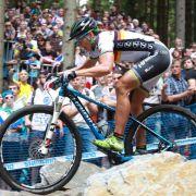 Mountainbiker Spitz und Fumic verpassen EM-Podest (Foto)