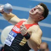 Weltmeister Storl stößt Kugel auf Jahresbestweite (Foto)