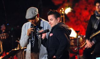 Xavier Naidoo und Andreas Gabalier stehen heute Abend gemeinsam auf der Bühne. (Foto)