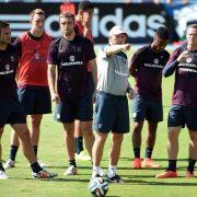 Vorbereitung mit Capoeira: England vor WM-Start locker (Foto)
