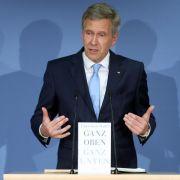 Wulff gibt Justiz Schuld an Rücktritt (Foto)