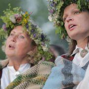 Längster Tag im Kulturhauptstadtjahr: Sommersonnenwende in Riga (Foto)