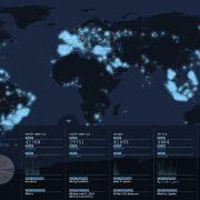 Wie Twitter-Nachrichten die Welt erleuchten (Foto)