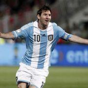 Fußball-Welt sucht besten Torjäger - Messi der Favorit (Foto)