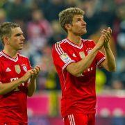 FCBayern verlängert Verträge mit Lahm und Müller (Foto)