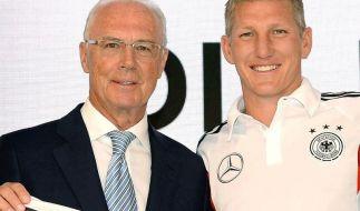 Beckenbauer: Deutsche Generation «reif» für großen Titel (Foto)
