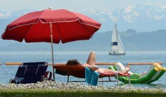 Bodensee fünf Grad wärmer als in der Vorwoche (Foto)