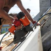 Bauarbeiter sollten bei Hitze vier Liter täglich trinken (Foto)