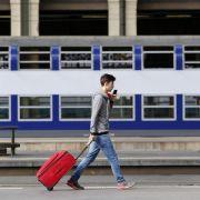 Bahnstreik bremst Reisende und Pendler in Frankreich aus (Foto)