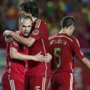 WM-Held Iniesta: «So ein Tor macht man nur einmal» (Foto)
