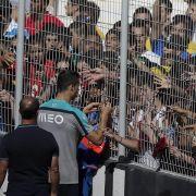 «Ronaldo, Ronaldo»: Portugal trainiert vor 10 000 Fans (Foto)