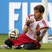 Casillas: Beim Weltmeister Spanien Nr. 1 (Foto)