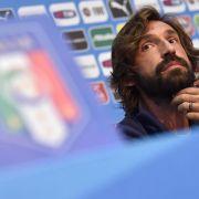 Italiens Mittelfeld-Star Pirlo gegen England im Fokus (Foto)