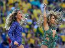 War im ZDF kaum zu verstehen: Jennifer Lopez' Auftritt zur Eröffnungsfeier. (Foto)