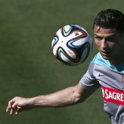 Portugal komplett: Ronaldo trainiert, Coentrão dabei (Foto)