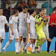 Schiedsrichter bei der WM früh am Pranger (Foto)