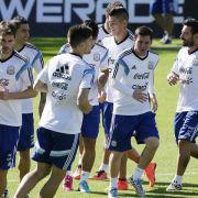 Argentinien-Taktik: Auf jeden Fall mit Messi (Foto)