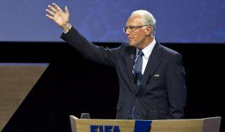 Franz Beckenbauer soll laut der FIFA in einer Untersuchung der Ethikkommission nicht kooperiert haben. (Foto)