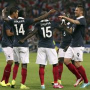 Optimismus und Idylle bei «Les Bleus» vor WM-Auftakt (Foto)