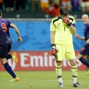 1:5 erschüttert Spanien - Del Bosque: «Alle blamiert» (Foto)