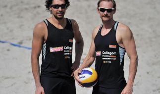 Beachvolleyball: Enttäuschungen für deutsche Männer (Foto)