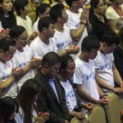 Angehörige von MH370-Opfern lehnen Entschädigung ab (Foto)