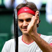 Federer triumphiert erneut auf Rasen - Sieg in Halle (Foto)